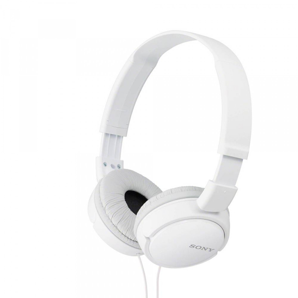 SONY - MDR-ZX110AP - Casque avec Microphone - Blanc