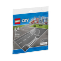 LEGO - 7281 - Plaques de route - Intersection et Virage