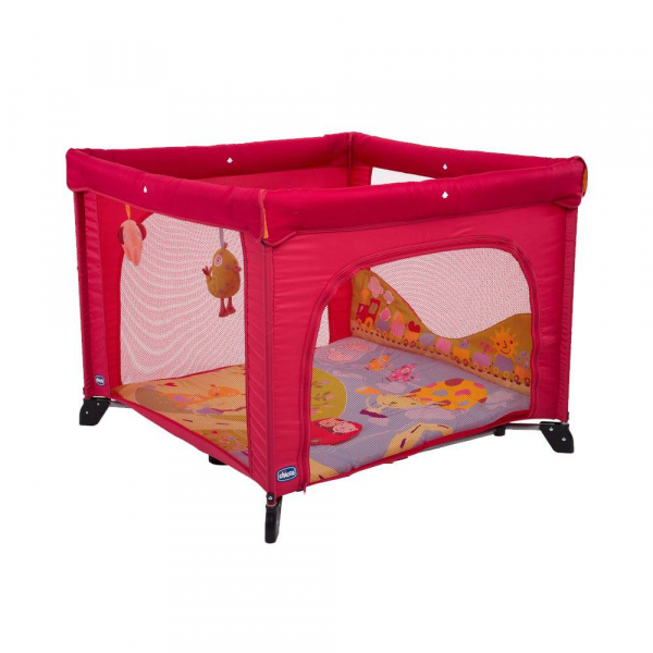 Chicco - Jouets - Parc Open Baby World Rouge