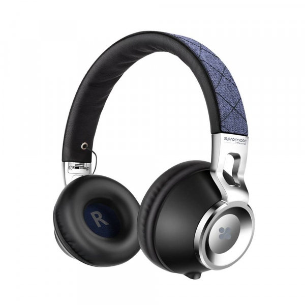 Casque Audio Promate Thump Blue