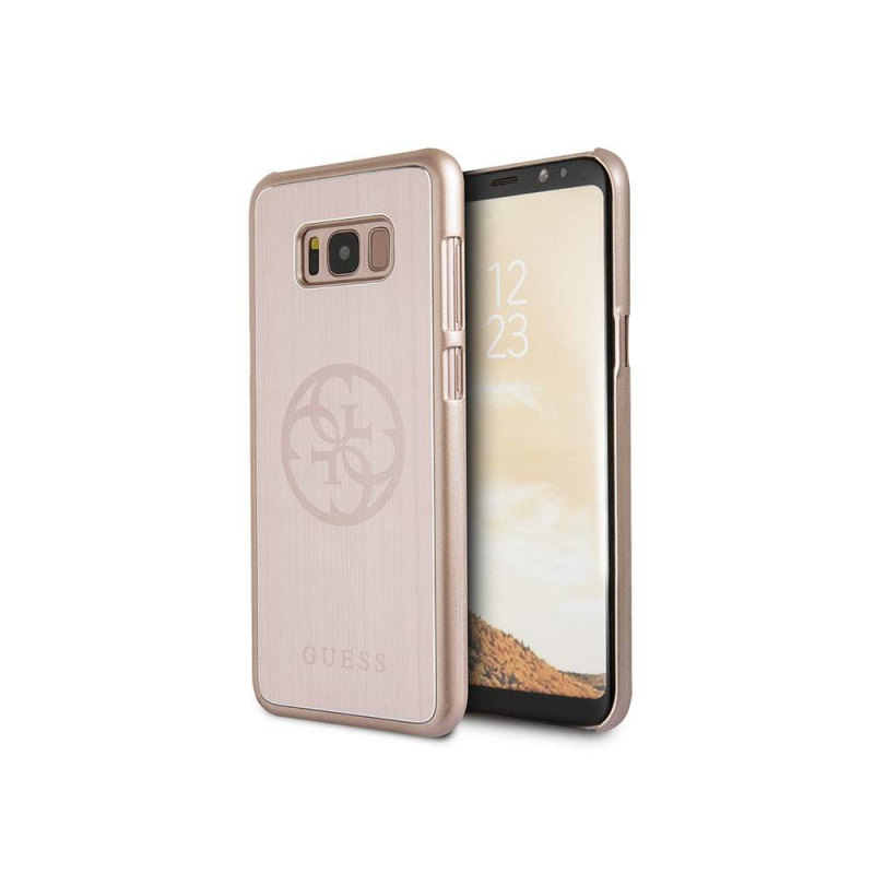 Étui GUESS Galaxy S8 Plus GUHCS8LMERLPI - Rose
