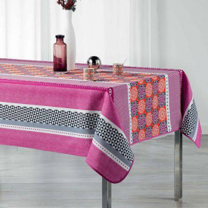 Nappe De Table Rectangulaire - Amarella 150*120 Cm - Rose