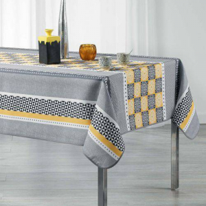 Nappe De Table Rectangulaire -150*240 Cm - Gris
