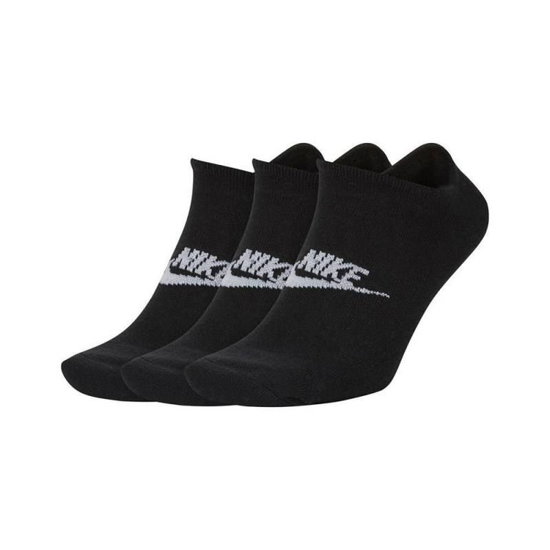 Chaussettes Courtes Nike Sportswear Everyday Essential Noire