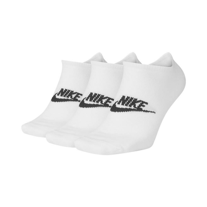 Chaussettes Courtes Nike Sportswear Everyday Essential Blanc