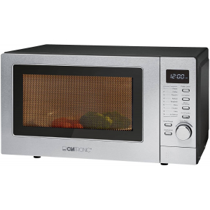 Micro-ondes 20L 800W Clatronic MWG 788H Gris