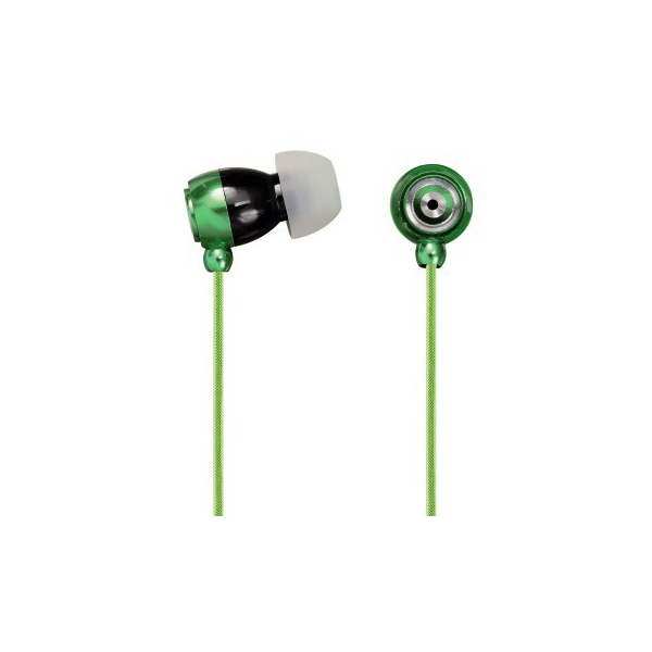 Hama - Ecouteurs intra auriculaires micro Style Vert