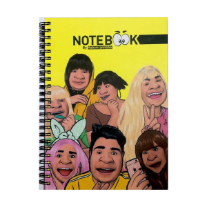 Note Book - By Hakim Annaba - grand format - 73 pages