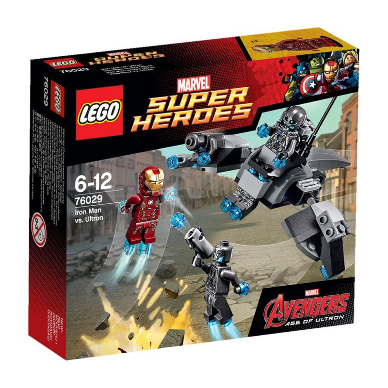 LEGO - 76029 - Iron Man contre Ultron