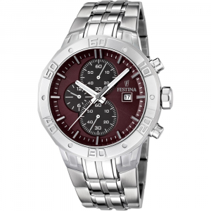 Festina - F16666/2 - Montre Homme - Quartz Marron
